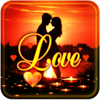 Romantic Sunset live wallpaper