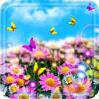 Summer Butterflies 2018 live wallpaper