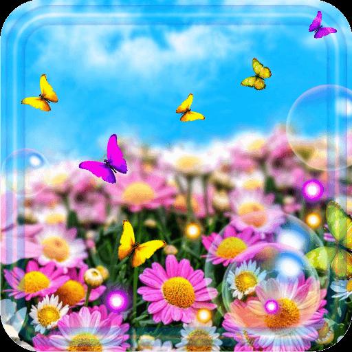 Summer Butterflies 2018 live wallpaper