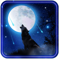 Wolf Moon Song live wallpaper