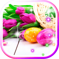 Easter Flowers live wallpaper