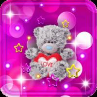 Teddy Cute live wallpaper
