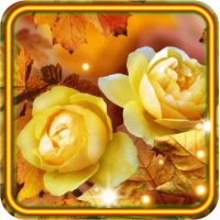 Roses Autumn live wallpaper