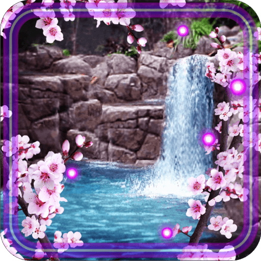 Sakura Waterfall