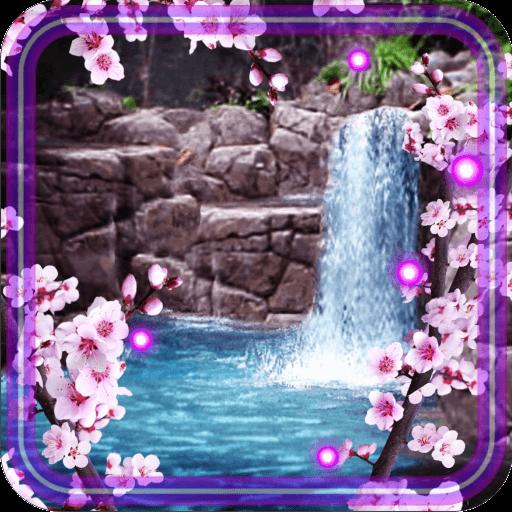 Sakura Waterfall