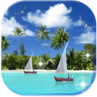 Beaches Islands live wallpaper