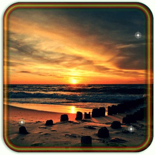 Sea Sunset live wallpaper