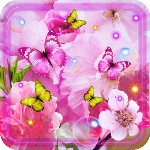 Summer Magic Flowers LWP