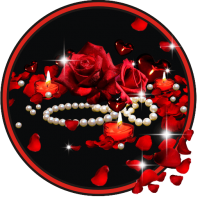 Roses Pearls live wallpaper