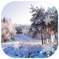 Snowfall Forest Live Wallpaper