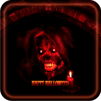 Black Halloween Live Wallpaper