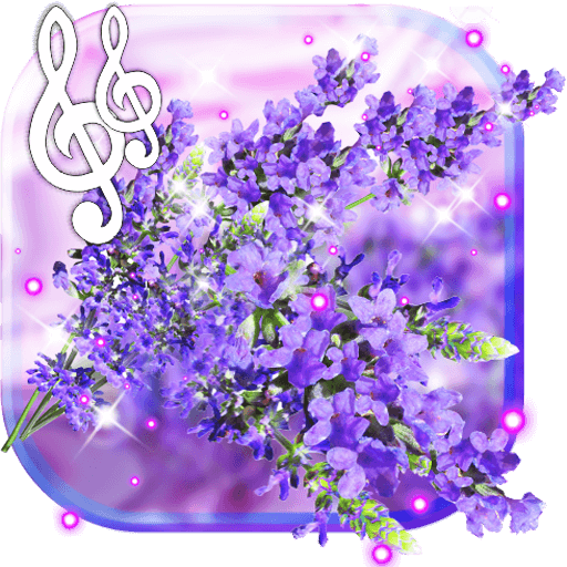 Lavender Purple live wallpaper