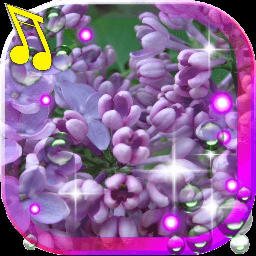 Lilac Spring live wallpaper