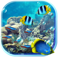 Underwater Fishes Live Wallpaper