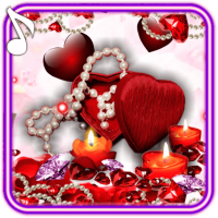 Valentines Candles live wallpaper