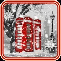 Winter London live wallpaper