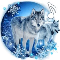 Wolves Winter live wallpaper
