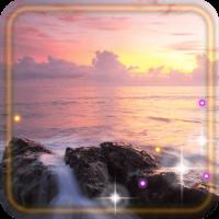 Beach Sea Sunrise Live wallpaper