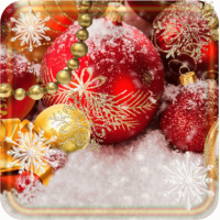 Christmas Rings live wallpaper