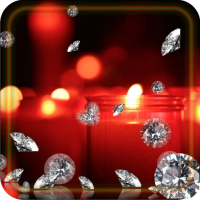 Diamonds and Candles Live wallpaper