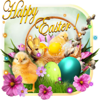 Easter Greeting Live wallpaper