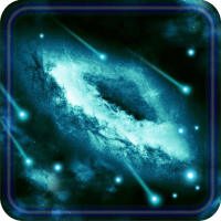 Galaxy Space Storm live wallpaper