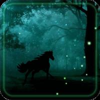 Horses Night live wallpaper