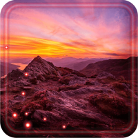 Mountain Sunset live wallpaper